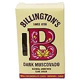 BILLINGTON'S - Azúcar Oscuro Mascabado - Azúcar para Pasteles, Galletas y Postres - Azúcar de Caña sin Refinar - 500 gr