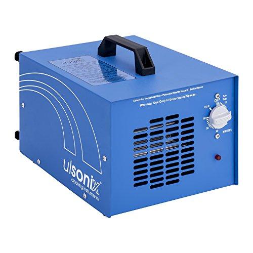 Ulsonix AIRCLEAN 20G-ECO Generatore Di Ozono Industriale (20.000 mg/h, 160 W, Timer, Lampada UV e ventilatore incl.) Blu