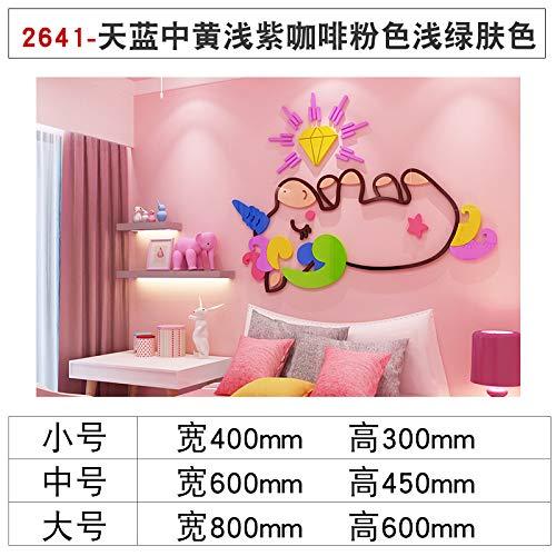 Adesivi murali decorazione della camera dei bambini acrilico 3d animale del fumetto buon regalo...