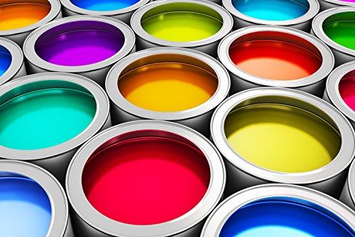 Betonfarbe Bodenfarbe Bodenbeschichtung Garage Garagenboden Weiss 1L