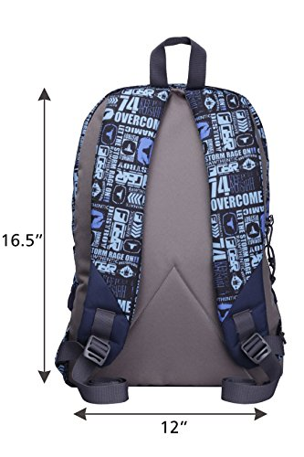 F Gear Burner 26 Liters P11 Sky Blue Casual Backpack 5