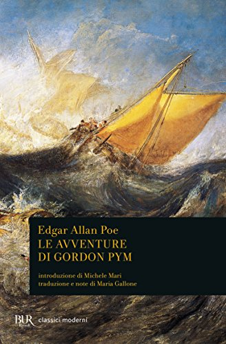 Le avventure di Gordon Pym Book Cover