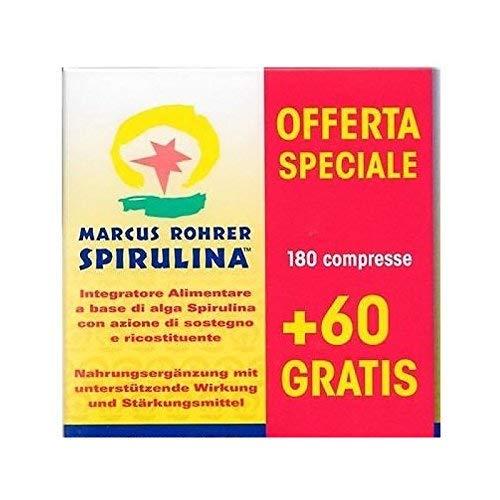 Spirulina Marcus Rorher 180 cpr+ 60 cpr omaggio