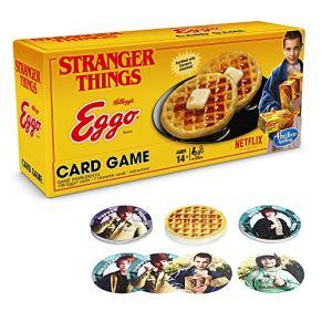 Otros Games Adultas C4548102 Juego de Cartas de extraño de Cosas de Huevo, Multicolor