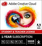 Adobe Creative Cloud All Apps | Student & Teacher | 1 Year | PC/Mac | Download