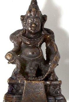 BUDDHAFIGUREN/Billy Held Buda Figuras–Jambhala–kúbera el Dios del reichtums y wohlstands Estatua Estatua tibetana