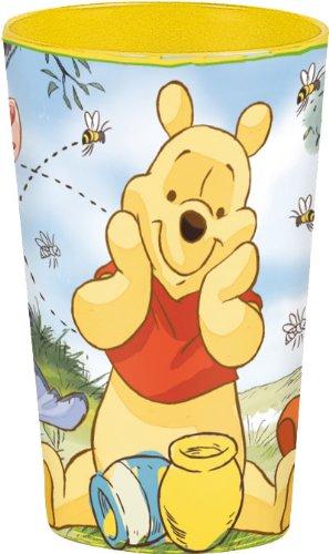 Disney - Bicchiere Plastica Winnie The Pooh Lenticolare