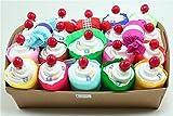 Torta di Pannolini Chicco Mini Cupcake