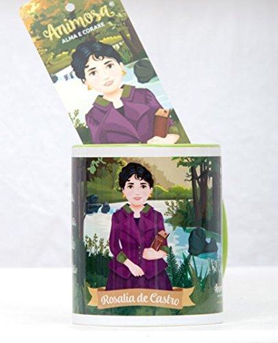 animosa Taza mug Rosalía de Castro Audaz