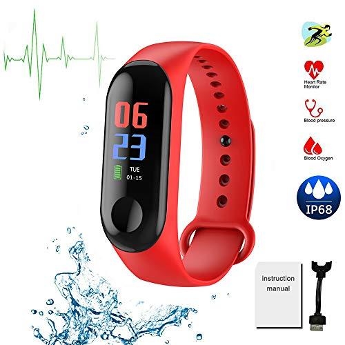 Fitness Tracker 0.96 pollici schermo intelligente Wristband impermeabile attività salute tracker...