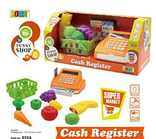 WP Top Sale Kids Pretend Play Toys Supermarket Portable Cash Register Used