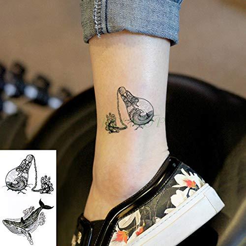 5pcs Autoadesivo del Tatuaggio temporaneo Impermeabile The Tatoo Tatuaggi Finti Tatouage Collo Polso...