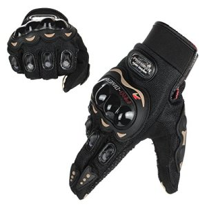 GES Männer Vollfinger Touchscreen Racing Wasserdichte Handschuhe für Motocross Klettern Wandern Outdoor Sports Handschuhe 4