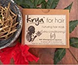 Krya SLS, SLeS, Sulphate-free and Paraben-Free Oil-free, Silicone and Chemical-Free Hair Conditioning Nurturing Herbal Mask with 25 Rich Ayurvedic Herbs and Organic Cold Pressed Oils, 100 g