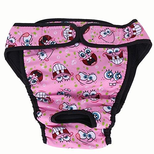Gowind6Dog pantaloni grande cane pannolino sanitario Fisiologici Pants lavabile cane femmina biancheria intima