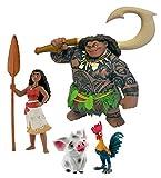 Bullyland B13181 - Coffret de 4 figurines - Vaiana Disney