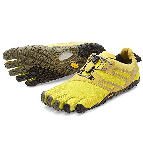 Vibram FiveFingers Damen V-Trail Traillaufschuhe, Gelb (Yellow/Black), 40 EU
