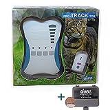 Girafus Katze Hund pro-Track-Tor Tracker Peilsender Ortung und Sucher//Mini RF-Tracker (8g mit Batterie) ideal für Katzen Haustiere Hunde//Ortung in Räumen möglich zB. Nachbarskeller-inkl. LADEGERÄT