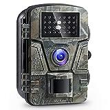 Victure Wildkamera Fotofalle 1080P Full HD 12MP Jagd Wildkamera Weitwinkel Vision Infrarote 20m Nachtsicht Wasserdichte IP66 Überwachungskamera mit 2.4