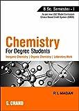 Chemistry for Degree Students (Semester I)