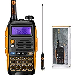 Baofeng Pofung GT-3TP Mark-III Tri-Power Two-Way Radio Transceiver, Dual Band 136-174/400-520 MHz Power Two-Way Radio