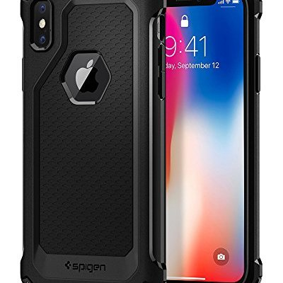 Spigen Rugged Armor Extra 057CS22154 , Custodia per iPhone X