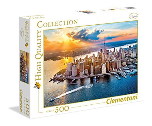 Clementoni - 35038 - High Quality Collection Puzzle - New York - 500 Pezzi
