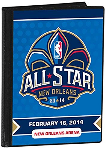 "NBA New Orleans Pelicans 2014 NBA All-Star Game Photo Album, 4"" x 6"", White"