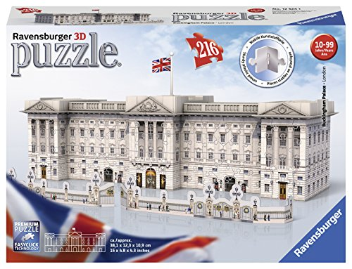 Ravensburger Italy Buckingham Palace Puzzle, 3D Building, 12524