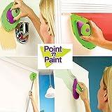 Generic 1set decorativa rodillo de pintura y bandeja Set cepillo de pintura Pintura Pad Pro punto N pintura herramienta de la pared