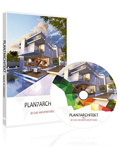 Plan7Architekt Pro 2018 - Profi 2D/3D CAD Hausplaner Software & Architektur Programm für die...
