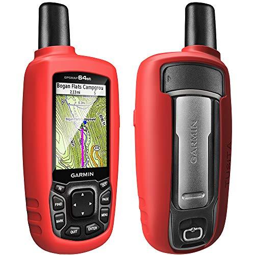 TUSITA Funda con Protector para Garmin GPSMAP 62s 62 62st 62sc 62stc 64 64s 64sc 64st - Caso Protectora de Silicona - Navegador GPS de Mano Accesorios