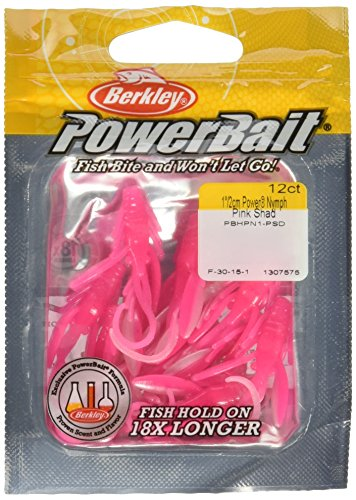 Berkley Powerbait Power Ninfa - Rosa Alosa, 2cm