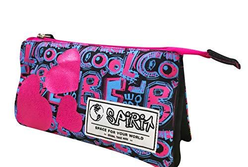 SPIRIT Be Cool Astuccio, 21 cm, 2 litri, Rosa/Azzurro