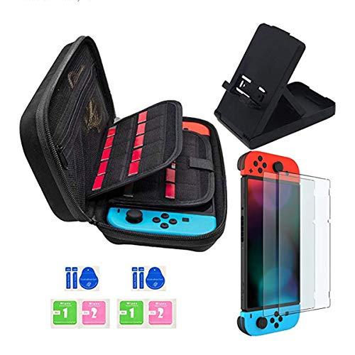 Accessori per Nintendo Switch, include Custodia da trasporto per Nintendo Switch / Supporto...