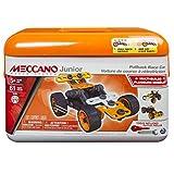 Meccano 6027021 - Junior Easy Toolbox, 61 pz., Arancione