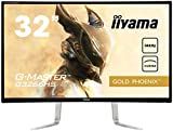 iiyama G-MASTER Gold Phoenix G3266HS-B1 Curved 80cm (31,5 Zoll) VA LED-Monitor Full-HD (VGA, DVI, HDMI, DisplayPort, 3ms Reaktionszeit, 144HZ, FreeSync) schwarz