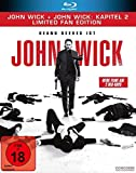 John Wick + John Wick: Kapitel 2 - Limited Fan Edition (2 Blu-rays in veredelter O-Card)