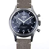 Seagull ST19 Movt Wrist Watch Mens Pilot Chronograph Mechanical Acrylic Exibition caseback