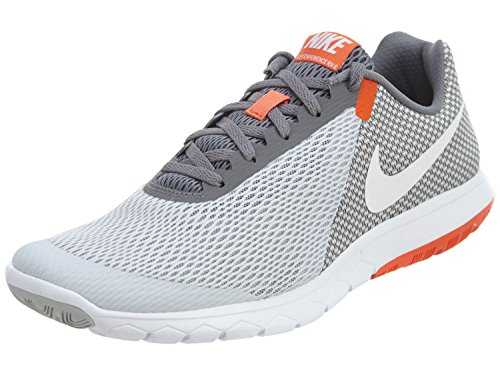 1ef87da5e8ec1 Nike Flex Experience Rn 6 Mens Style White-Cool Grey Shoes ...