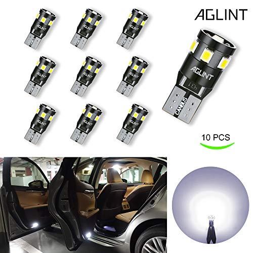 AGLINT T10 CANBUS LED Lampadine 12V W5W 194 168 2825 Cuneo Tipo Luci Dell'automobile Bulb 6000K 2835...