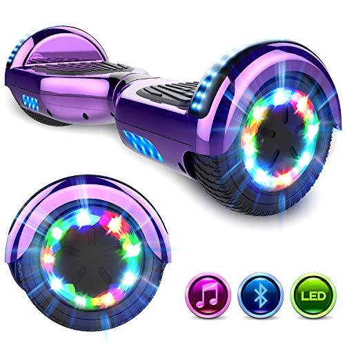 GEEKME Hoverboard auto bilanciamento scooter 6.5 '' regalo per bambini e adulti -UL2272 Sicurezza...