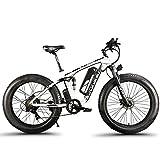 Extrbici XF800 1000W 48V 13AH Bicicleta eléctrica 26 'Marco de aleación de aluminio Suspensión completa 7 Velocidades Shimano Shift System 5 Configuración de Smart Computer Aceite hidráulico Apagado