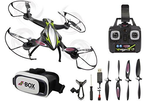Jamara- Drone con Bussola, Colore Nero, 422021