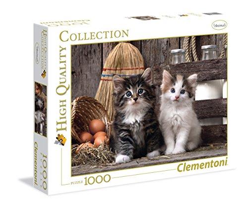 Clementoni 39340 - Puzzle Gattini, 1000 Pezzi, Multicolore