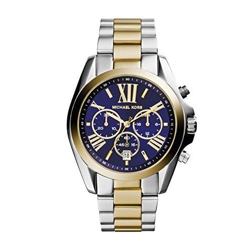 Michael Kors Orologio Cronografo Quarzo Donna con Cinturino in Acciaio Inox MK5976