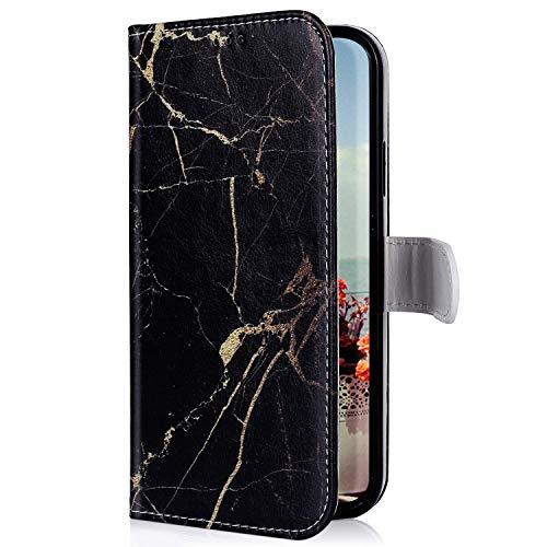 Uposao Compatibile con Xiaomi Redmi 7, Custodia in Pelle a Libro PU Flip Wallet Case Porta Carte e...