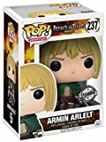 Funko - Figurine Attaque des Titans - Armin Arlelt Exclusive Pop 10cm - 0889698142809