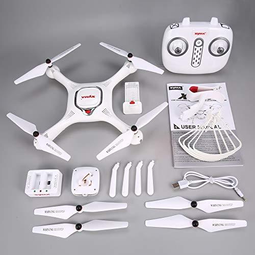 HoganeyVan Syma X25PRO 2.4G GPS Posizionamento FPV RC Drone Quadcopter con 720P HD WiFi Regolabile...
