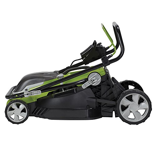 Aerotek 40V X2 Series Cordless Lawnmower compact and easy to store